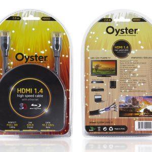 Oyster - HD002 HDMI Kablo 2.0mt