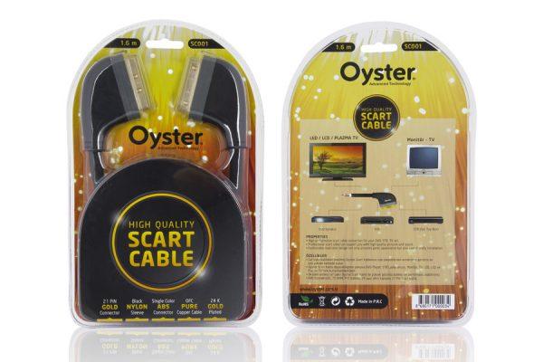 Oyster - SC001 Scart Kablo 1.6mt